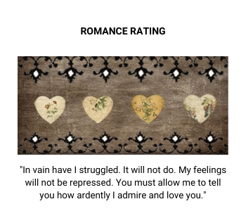 Four Vintage Hearts Rating