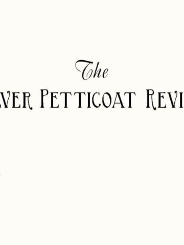 The Silver Petticoat Review logo