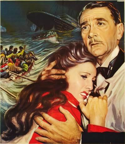Titanic 1953 promotional art