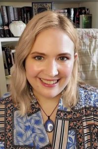 Amber Topping - Cofounder of The Silver Petticoat Review