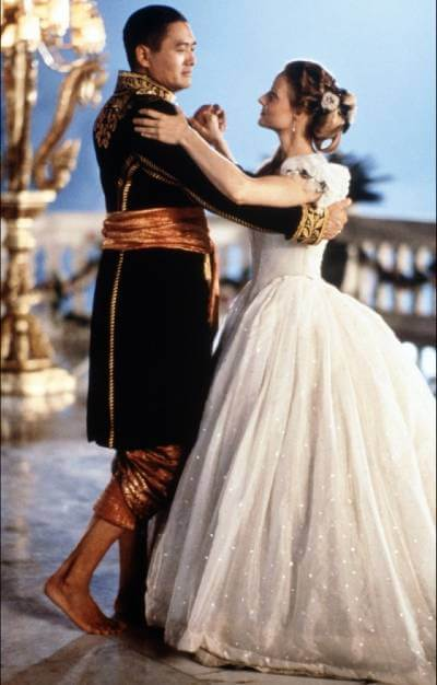 Anna and the King: photo of the two actors dancing
