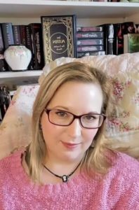Autumn Topping - cofounder of The Silver Petticoat Review