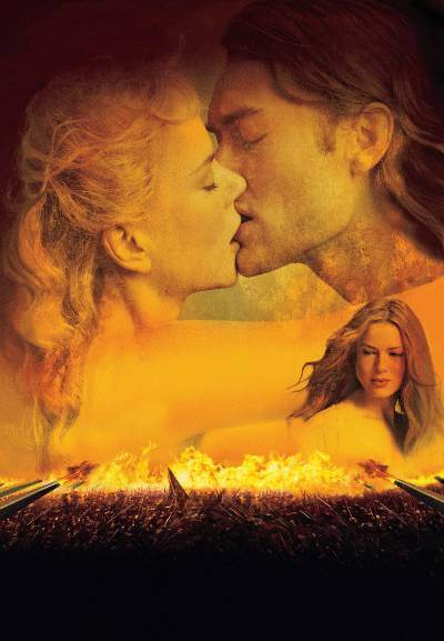 Cold Mountain Promotional Art with Jude Law, Nicole Kidman, and Renee Zellweger.