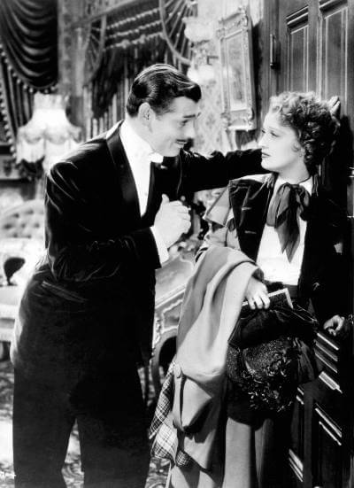 San Francisco publicity still with Clark Gable and Jeanette MacDonald