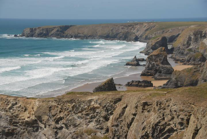 The Bedruthan Steps Park Head Cornwall photo
