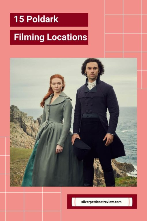 15 Poldark Filming Locations with Ross and Demelza photo