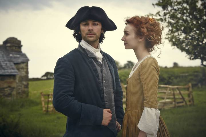 Ross and Demelza publicity photo