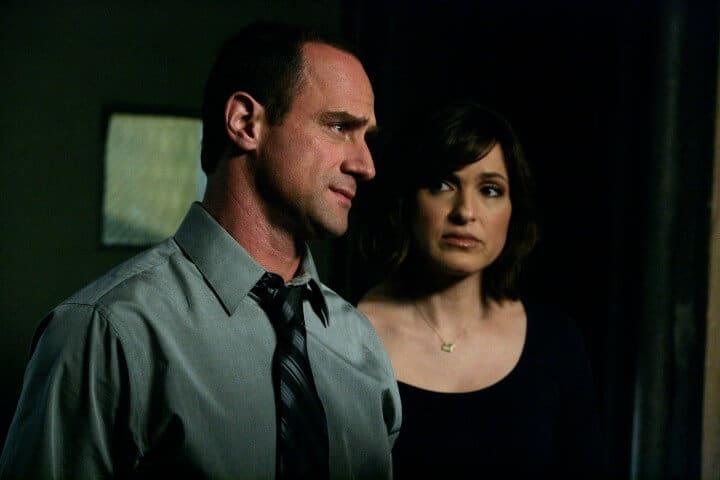 Elliot Stabler and Olivia Benson