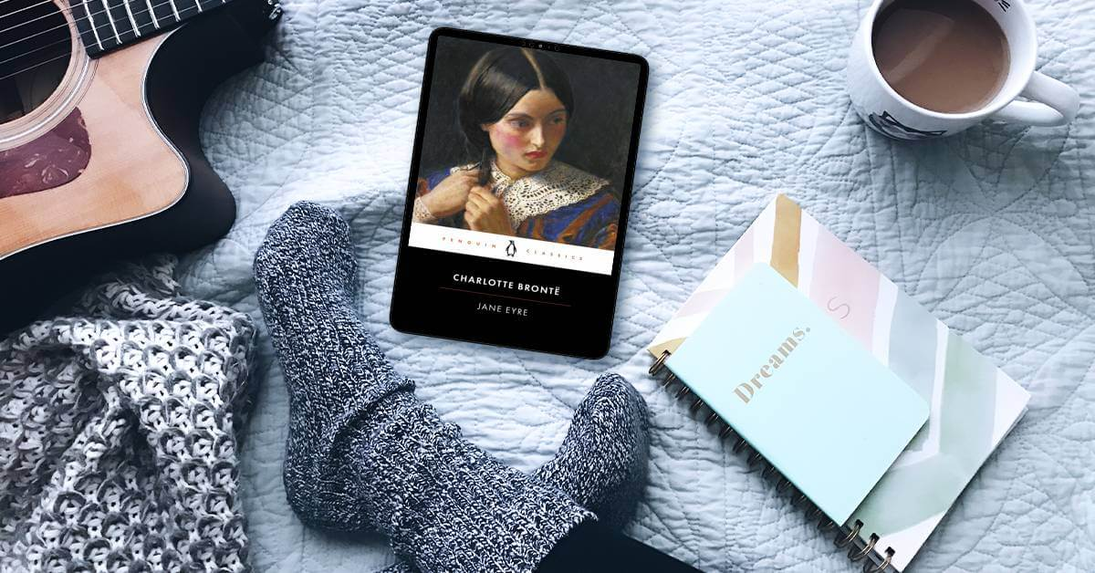 June and July 2021 Read Book Club Reveal is Jane Eyre - featured image with Jane Eyre book cover