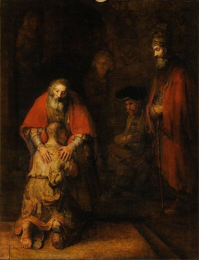 Rembrandt Prodigal Son painting