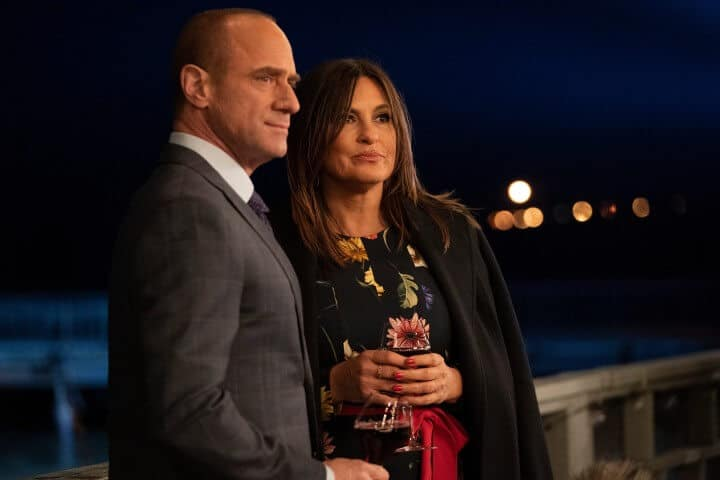 Elliot Stabler and Olivia Benson in Season 22 finale of Law & Order: Special Victims Unit