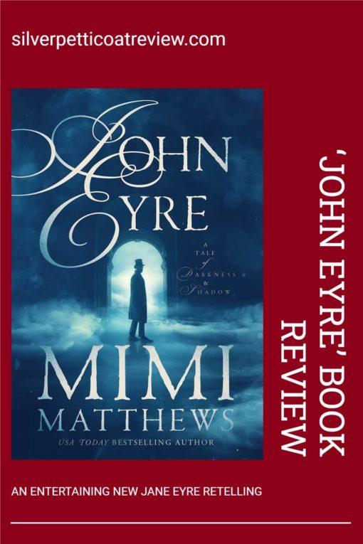 John Eyre Book Review; pinterest image