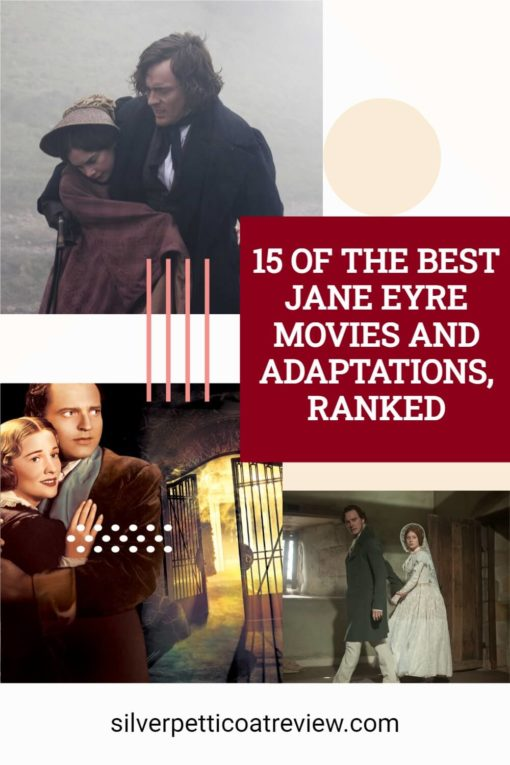 15 Of The Best Jane Eyre Movies And Adaptations, Ranked; pinterest image