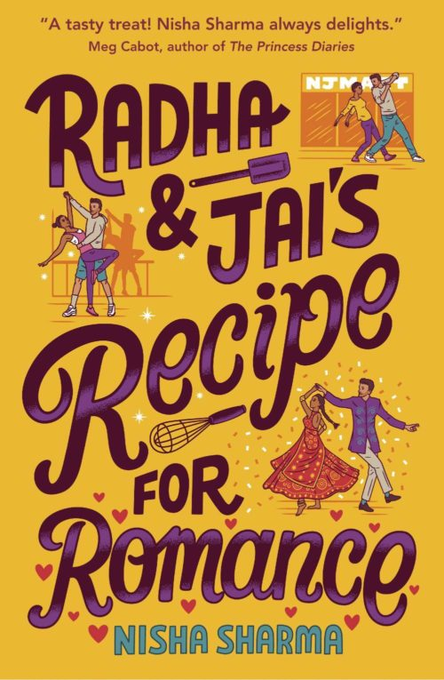 Radha and Jai's Recipe for Romance book cover; July 2021 new book releases