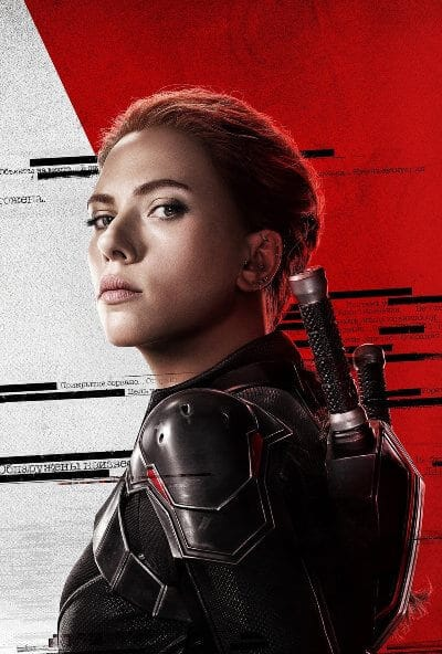 black widow promotional poster