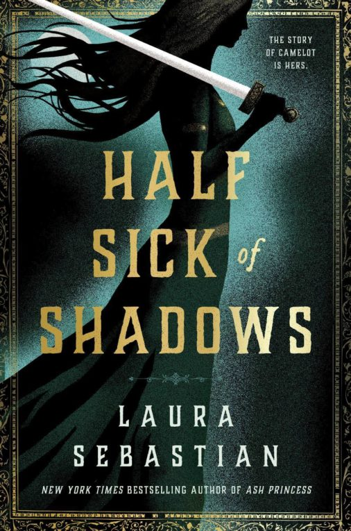 Half Sick of Shadows Book Cover; July 2021 book releases