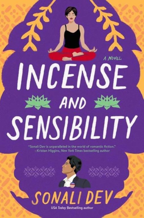 Incense and Sensibility book cover; July 2021 book releases
