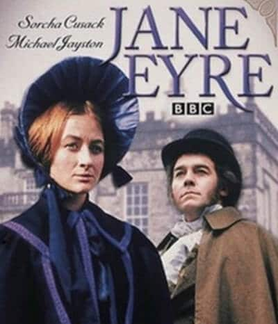 Jane Eyre 1973 DVD cover