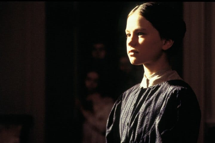Anna Paquin as young Jane Eyre in 1996 adaptation