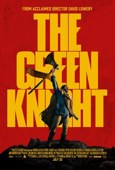 The Green Knight movie poster