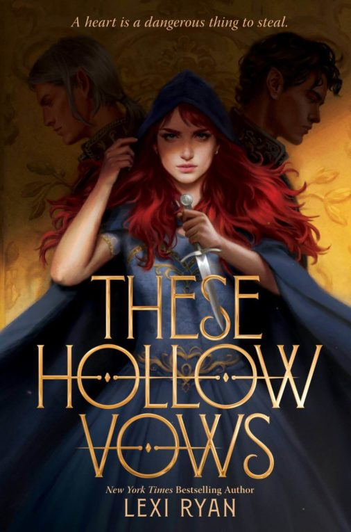 These Hollow Vows Book Cover; July 2021 book releases