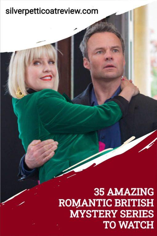 35 Amazing Romantic British Mystery Series to Watch; Pinterest image