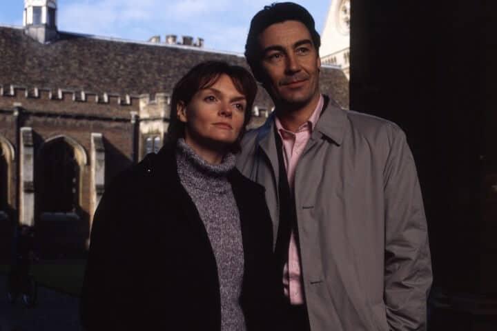 Nathaniel Parker (Thomas Lynley) and Sharon Small (Barbara Havers)