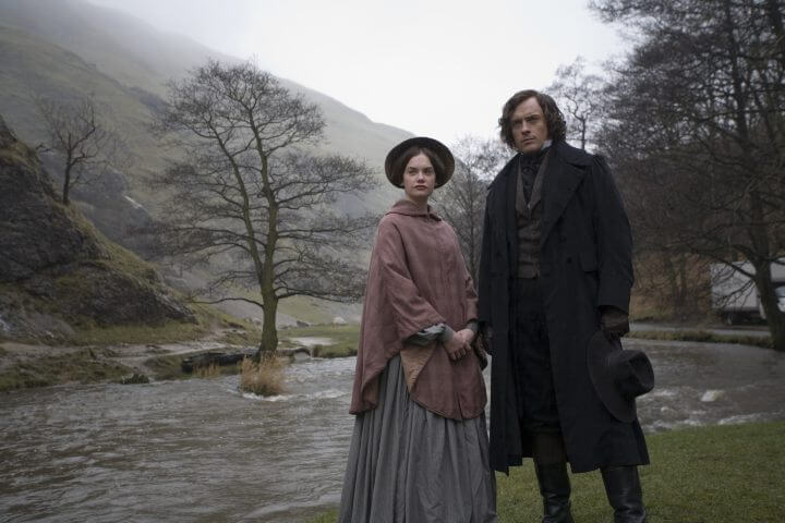 Ruth Wilson (Jane Eyre) and Toby Stephens (Rochester)