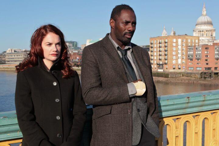 Ruth Wilson (Alice Morgan) and Idris Elba (DCI John Luther)