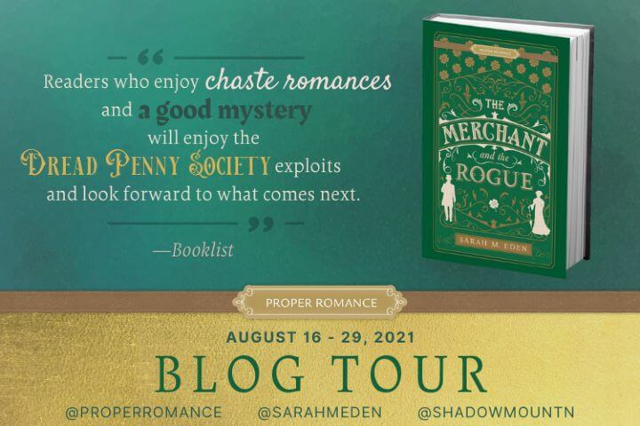 The Merchant and the Rogue Blog Tour image