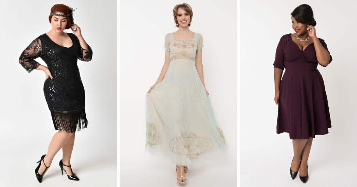 unique vintage dresses featured image of vintage style clothing