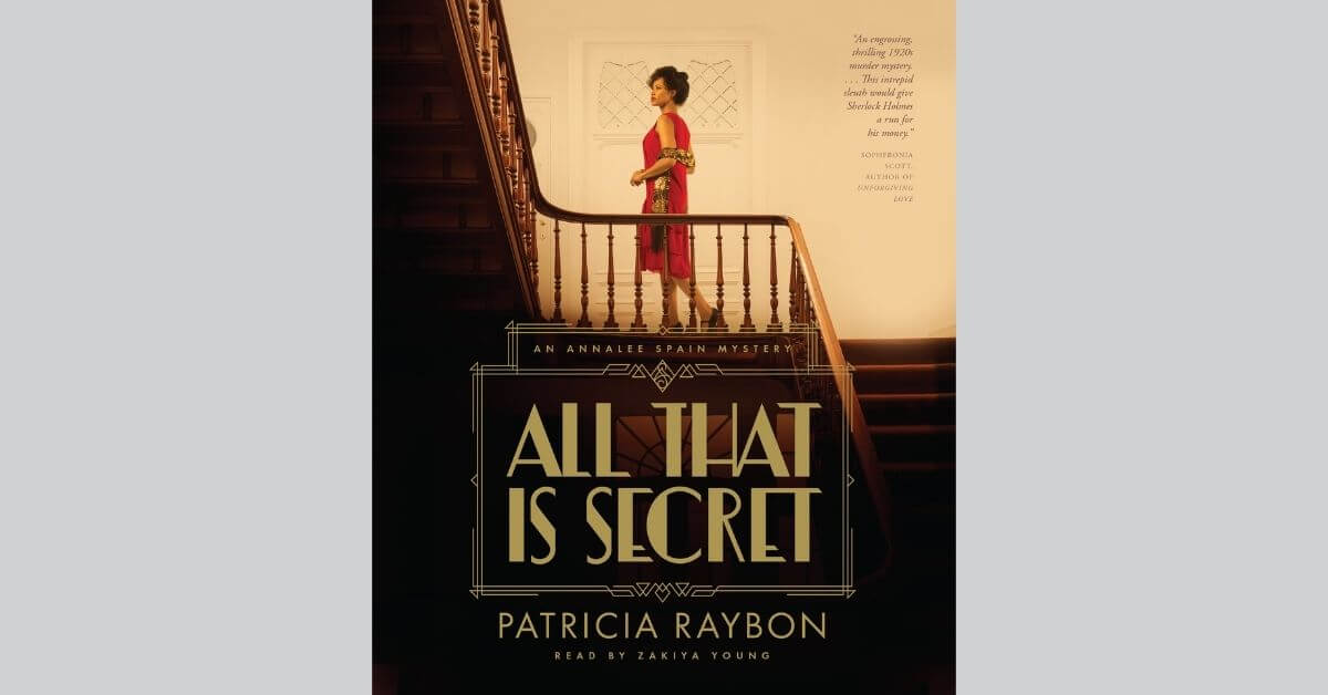 All That is Secret - Christian Fiction featured image with book cover and gray background