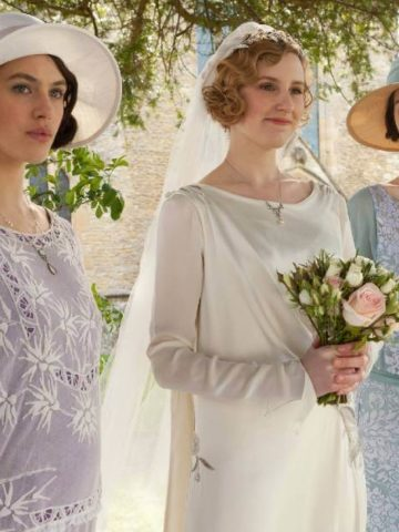 The Crawley sisters of Downton Abbey